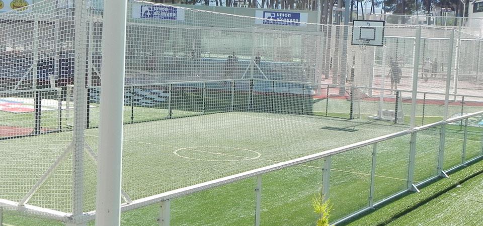 Pistas de futbol sala excellent mejoras en las pistas de for Pista de futbol sala medidas